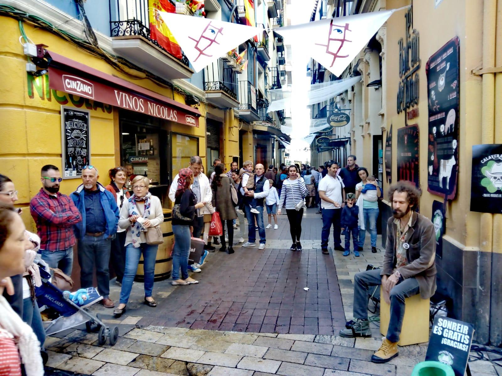 Zaragoza centro: domingo por la mañana 5