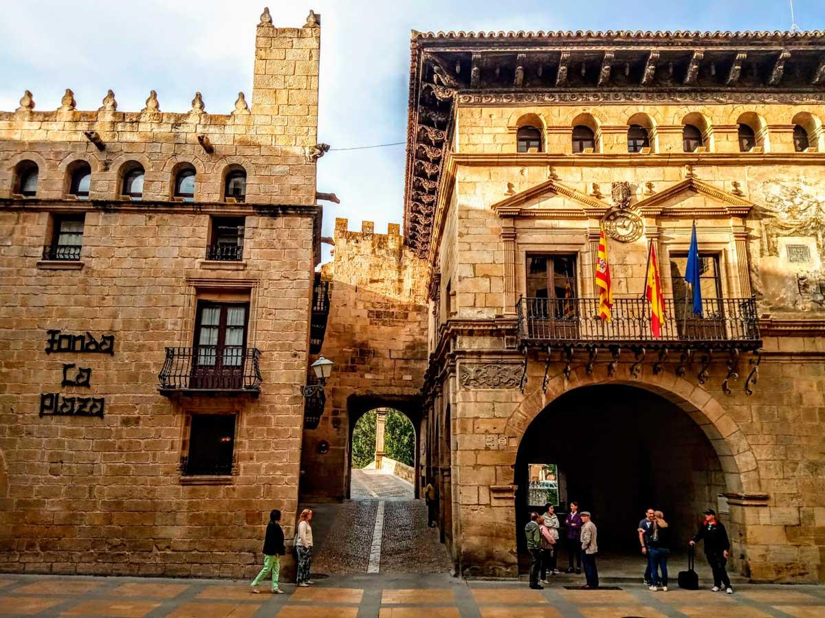 Descubrir Aragón desde casa. Valderrobres 2