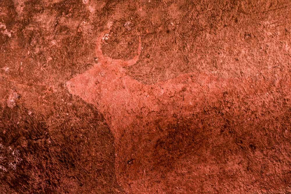 Pinturas rupestres Albarracín Pinares Rodeno