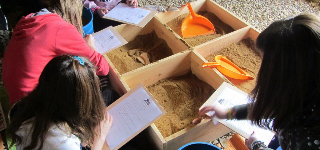 Escuela de Arqueólogos, Los Bañales Zaragoza