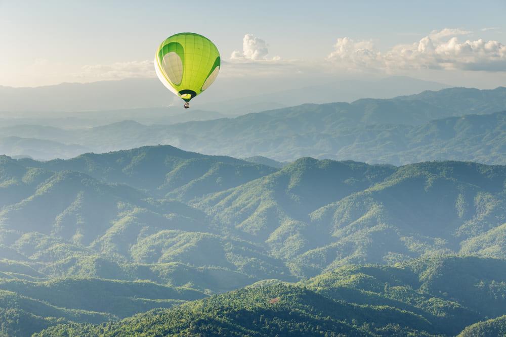 Razones por las que viajar en globo por Aragón 2