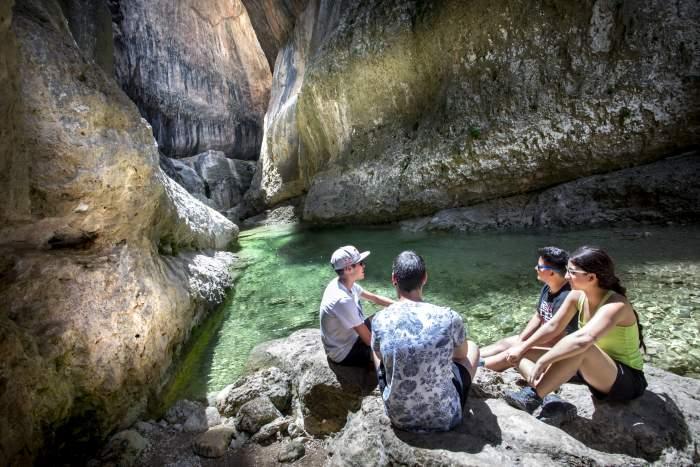 Parrizal de Belceite Turismo de Aragón Comarca del Matarraña